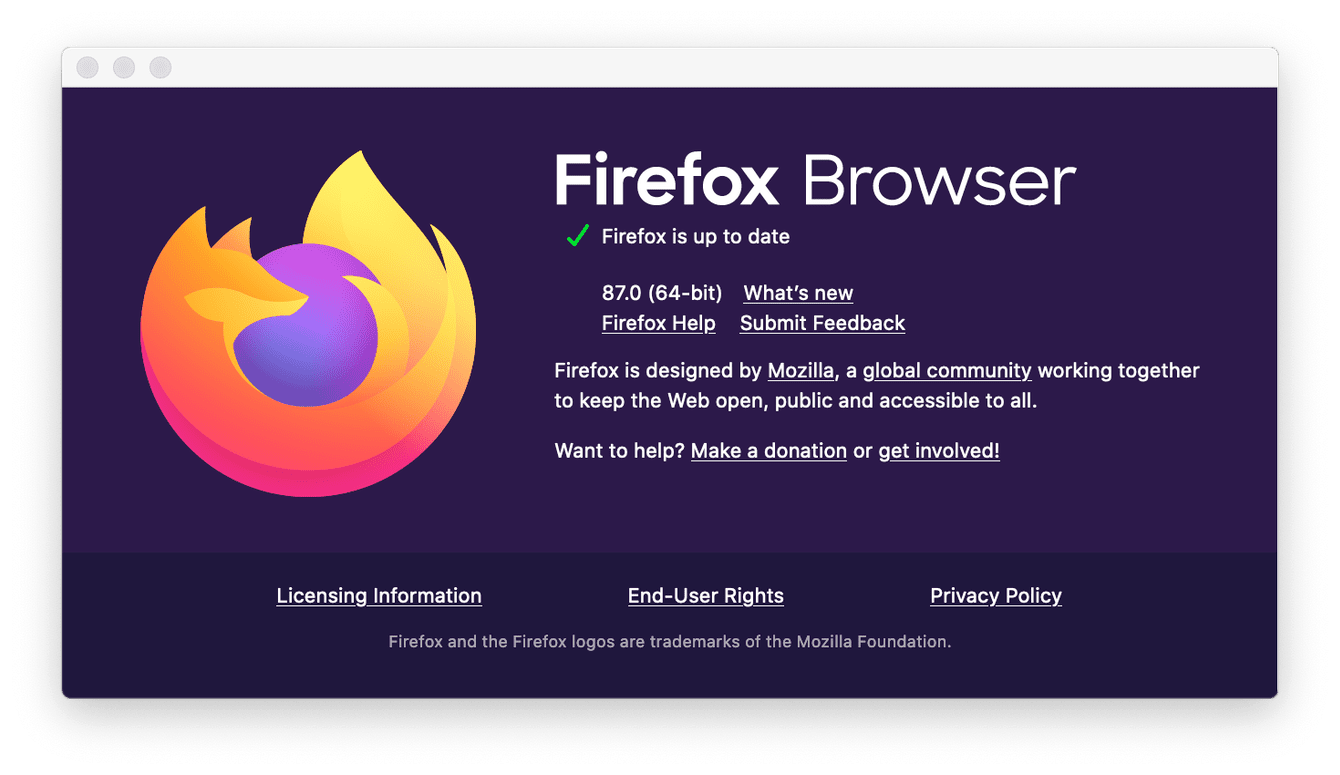 How to check for updates in Firefox