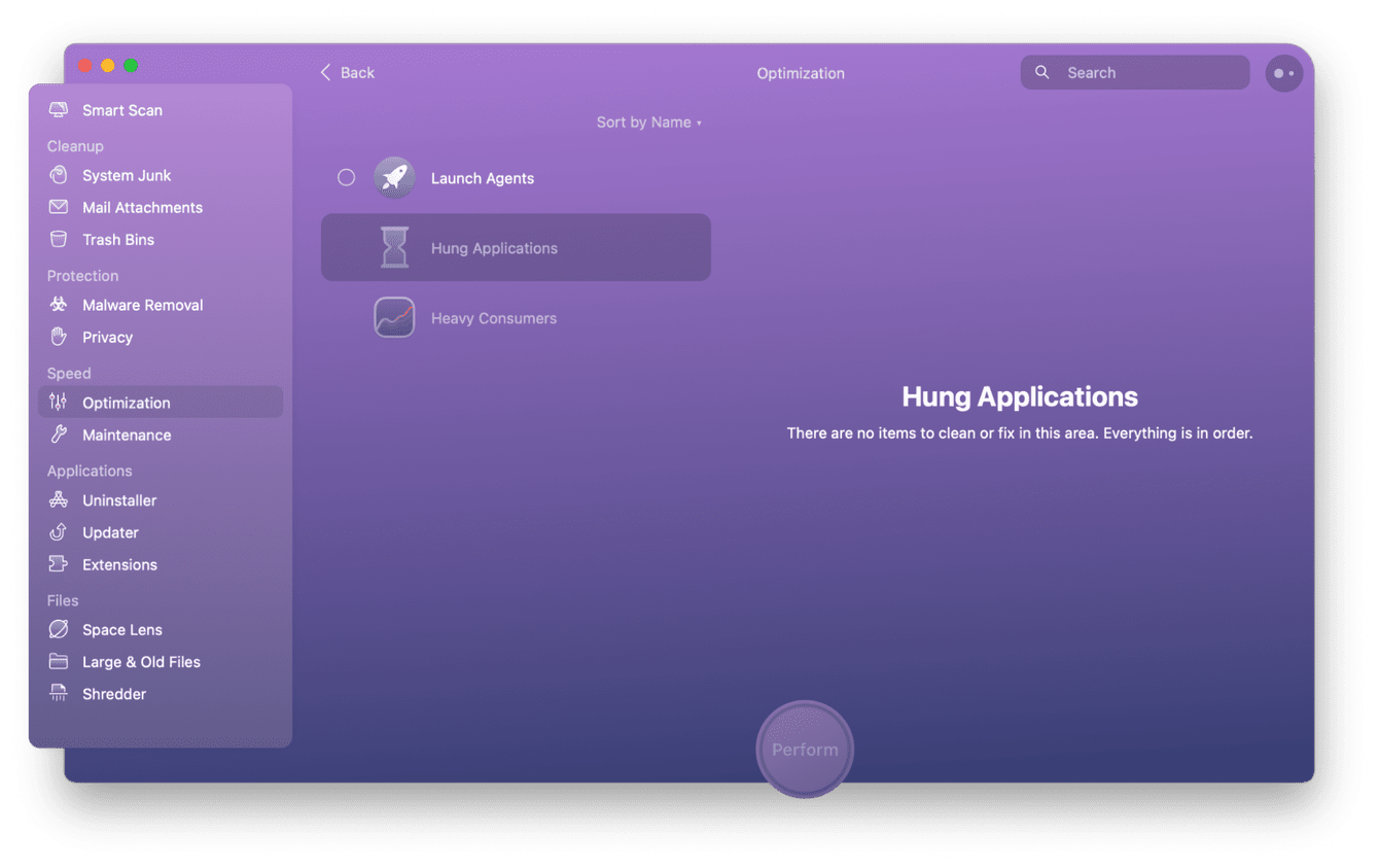 How to detect and quit hung applications