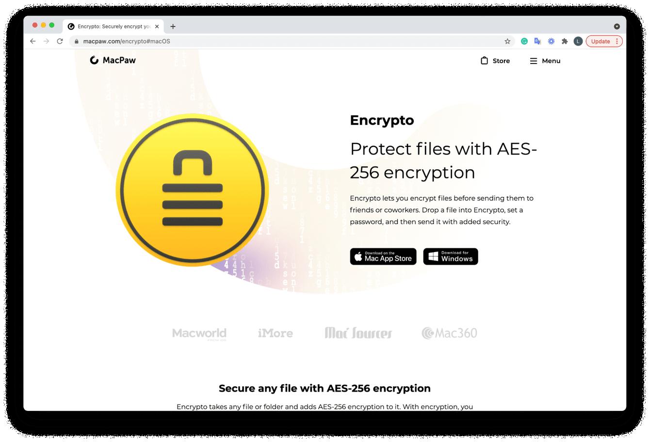Encrypto software