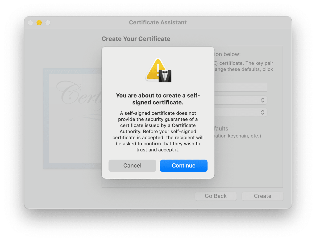 How to get an encryption certificate