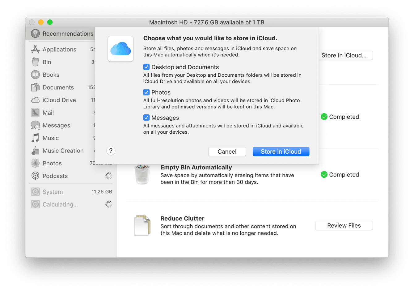 How to use iCloud drive