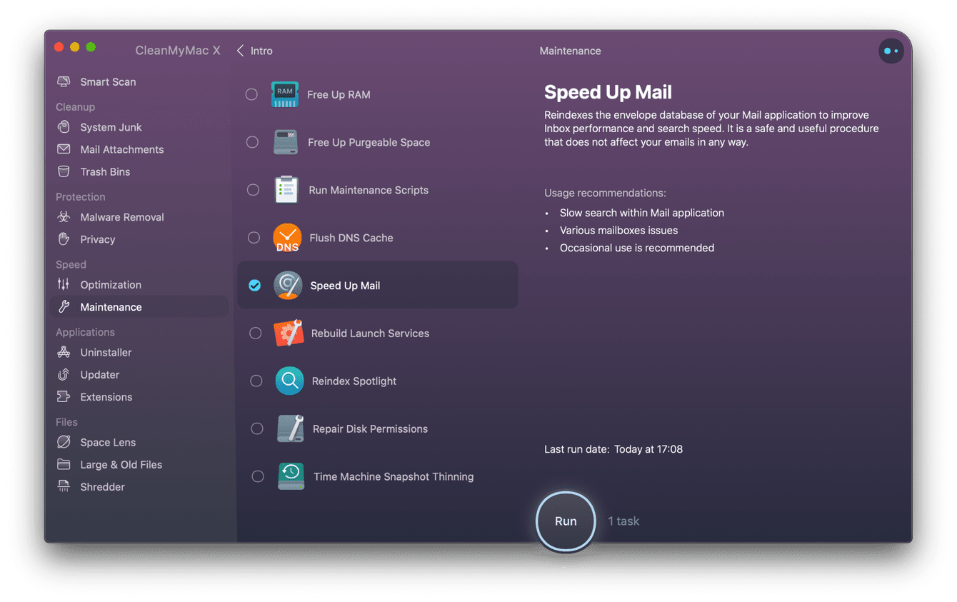 How to speed up Mail on Mac