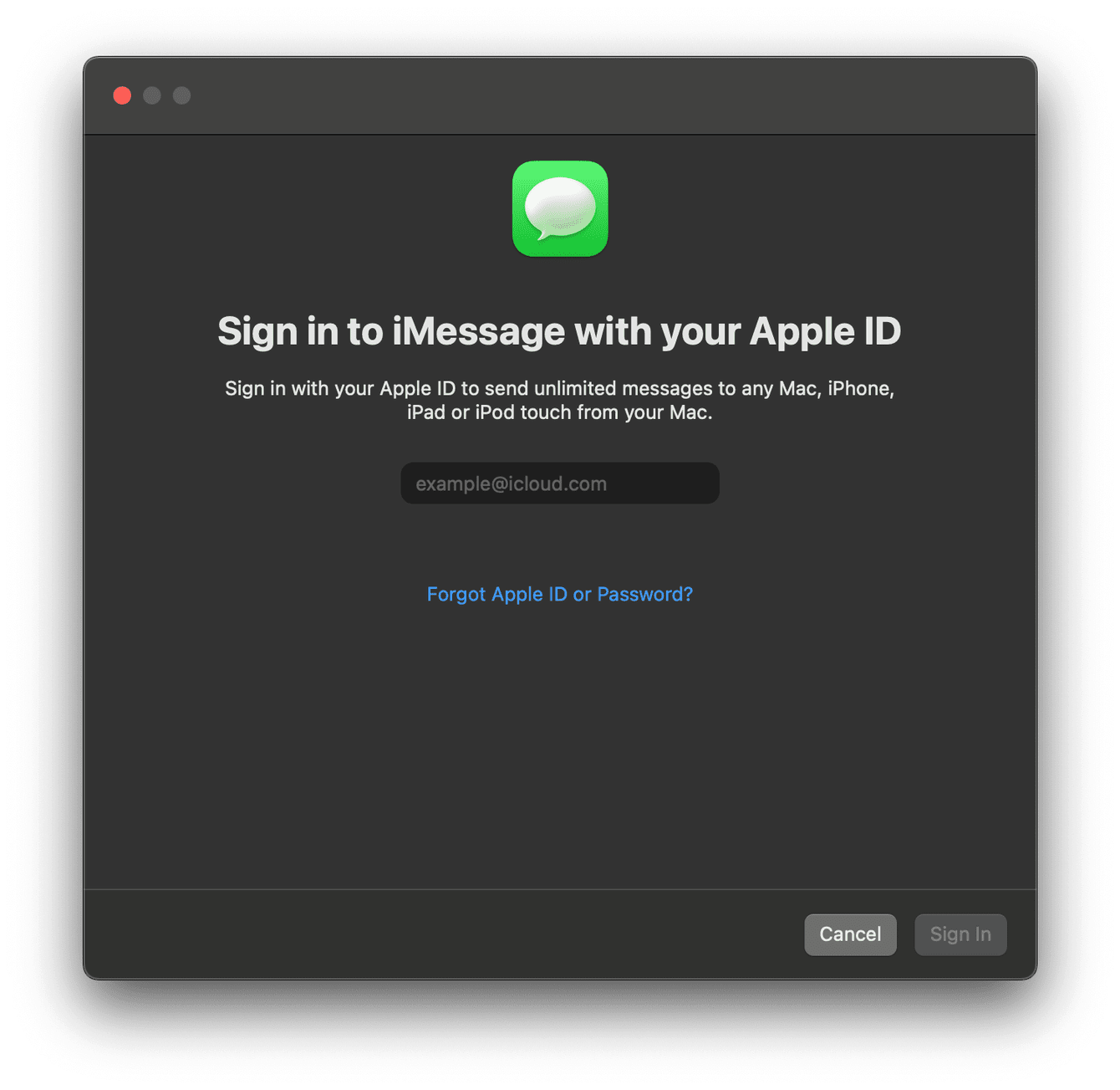 How to sign up for iMessage