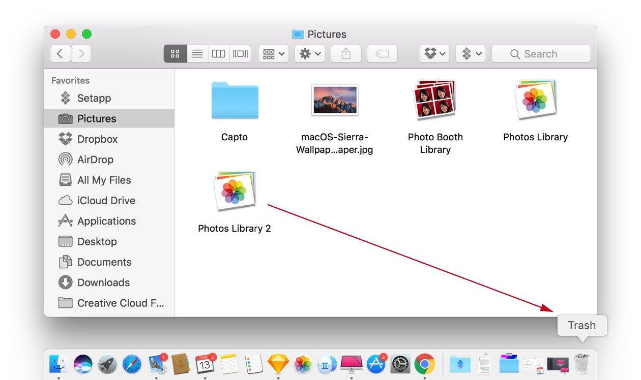 Get rid of Photo Library duplicates