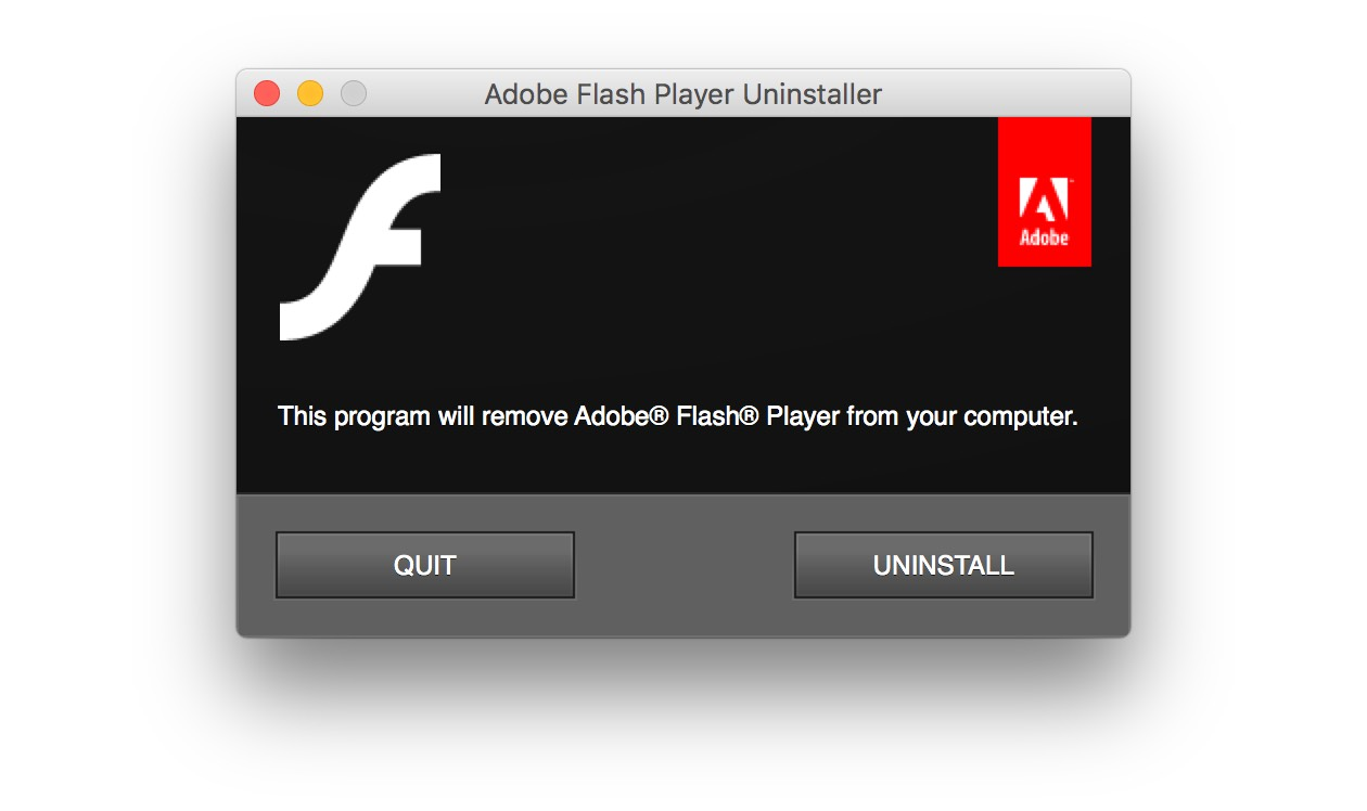 How to delete Flash player manually